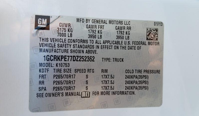 2013 CHEVROLET SILVERADO 1500 EXT CAB 4X4 full