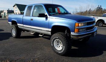 1997 CHEVROLET SILVERADO EXT CAB 4X4 full